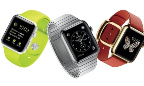 Apple Watch data premiery