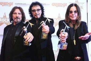 Black Sabbath Classic Rock Award