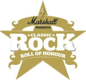 Classic Rock roll of honour awards