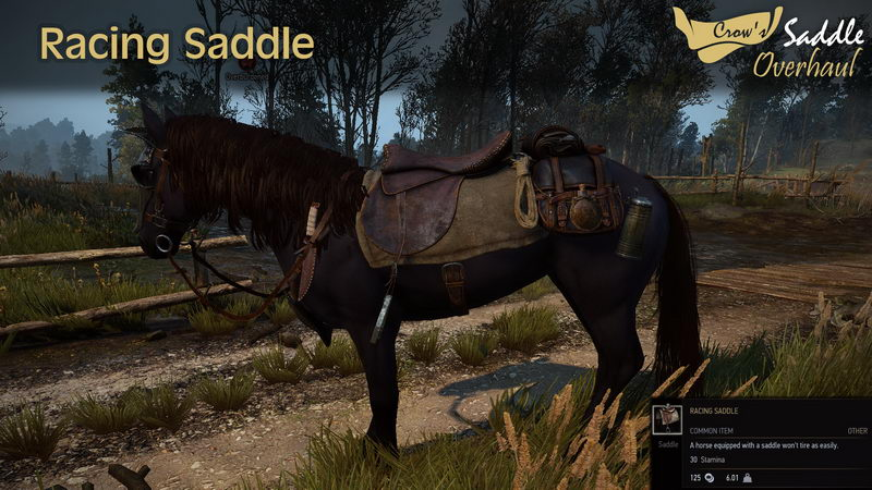Crow Saddle Overhaul Wiedzmin 3 mody