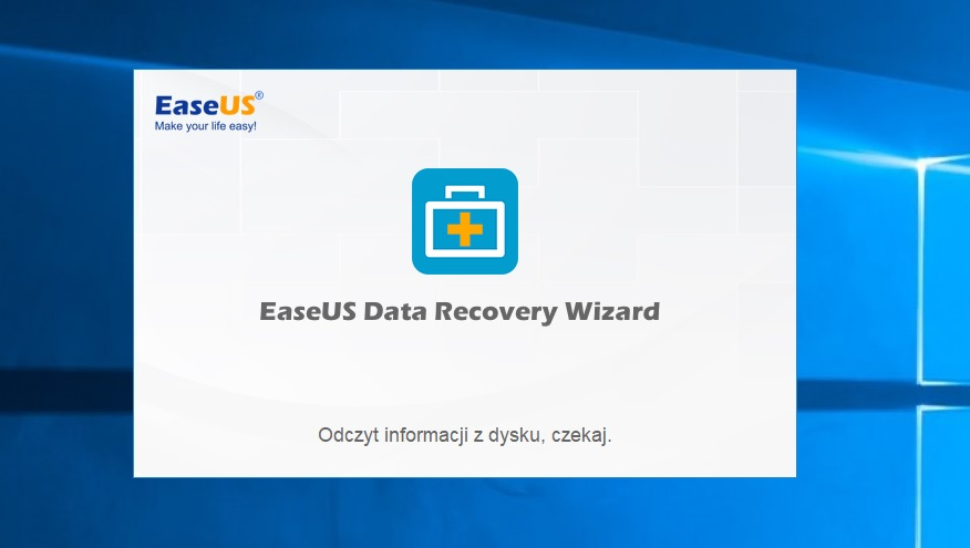 EaseUS Data Recovery main