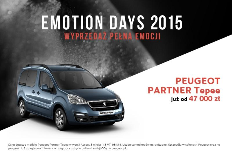 Emotion Days 2015 - Peugeot Tepee