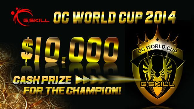 G.SKILL OC World Cup 2014 photo 1