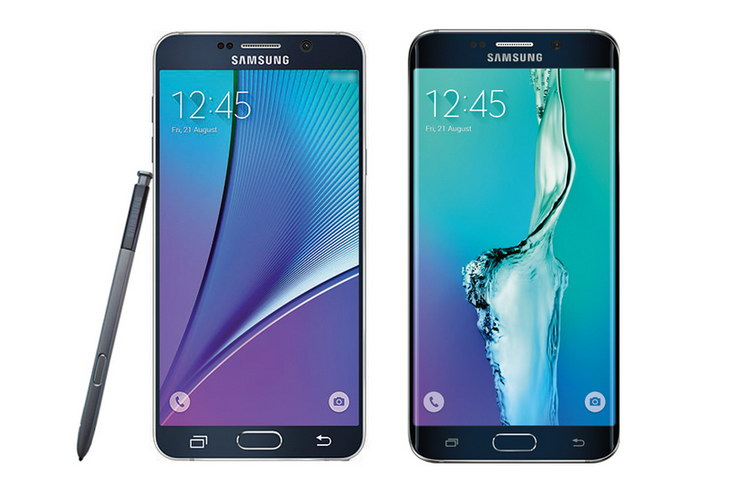 Galaxy Note5 oraz Galaxy S6 Edge Plus