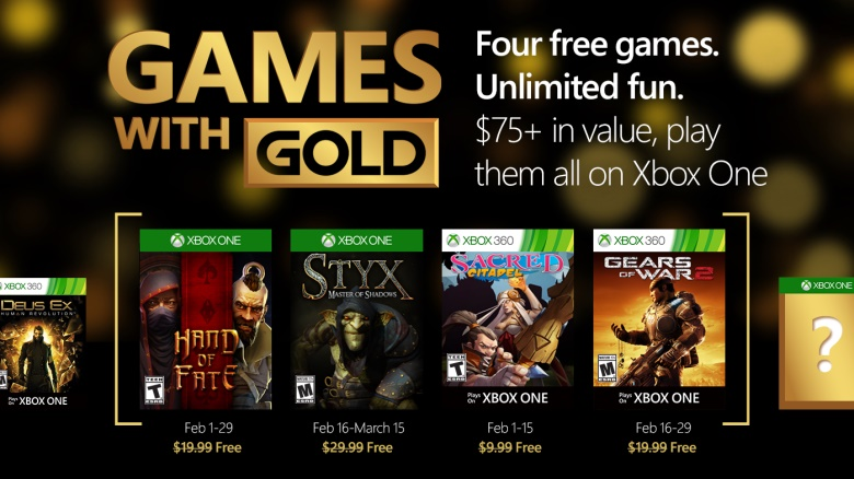 Games with gold luty 2016