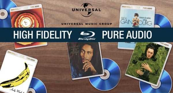 High Fidelity Pure Audio bluray