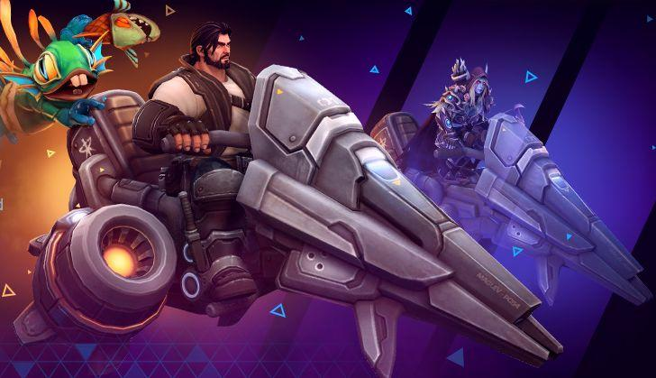Hover Bike Heroes of the Storm