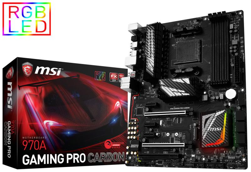 MSI 970A GAMING PRO CARBON 01