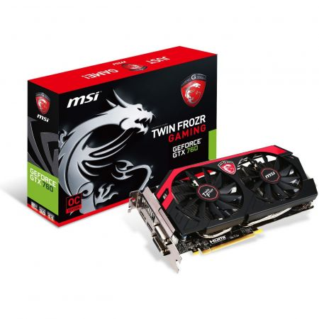MSI GeForce GTX 750 TI OC Gaming 2GB