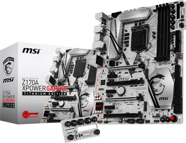 MSI Z170 XPower Gaming Titanium Edition 01