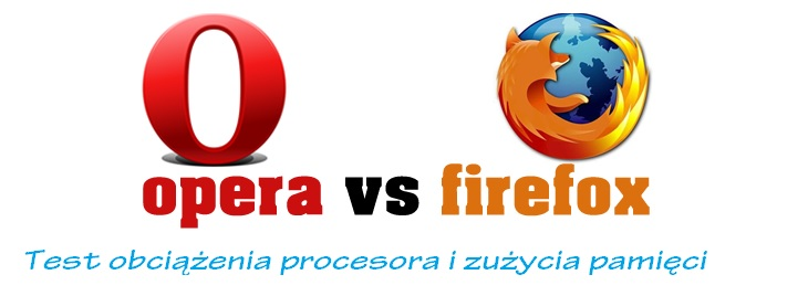 Opera vs firefox test