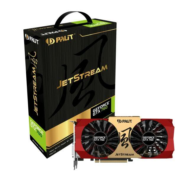Palit GTX 760 JetStream 2 GB GDDR5 BOX