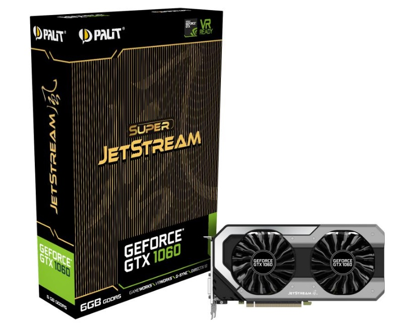 Palit GeForce GTX 1060  JetStream
