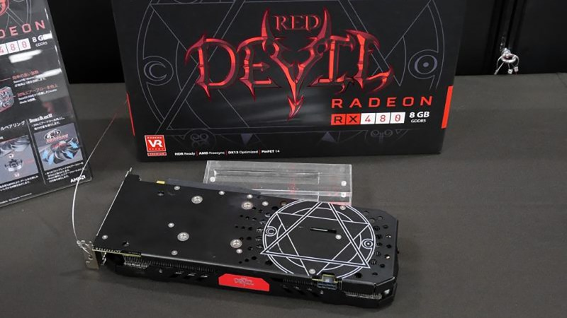 PowerColor Radeon RX480 Devil