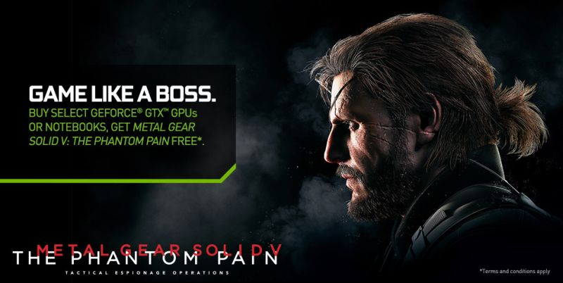 Promocja NVIDIA Metal Gear Solid V The Phantom Pain