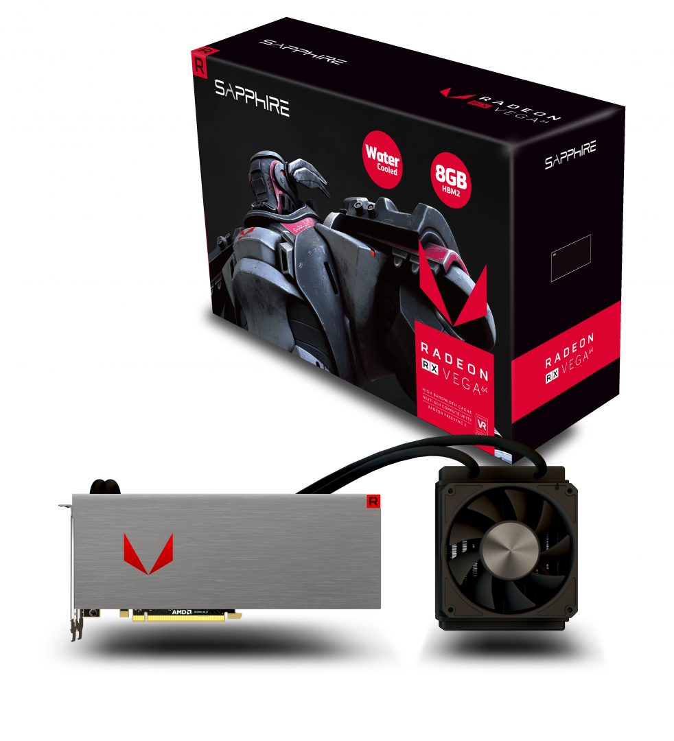 SAPPHIRE RX VEGA 64 Water Cooled 01
