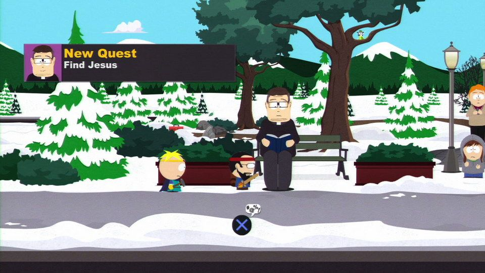 South Park The Stick Of Truth quest