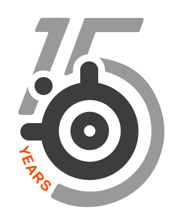 SteelSeries 15th logo
