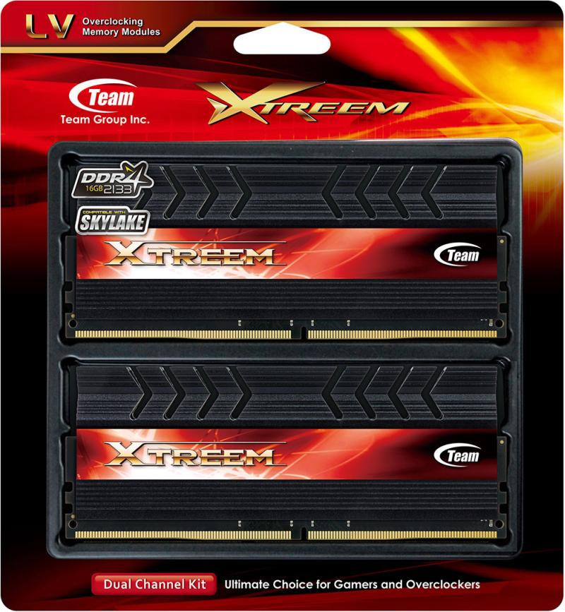 TEAM Xtreem DDR4 01