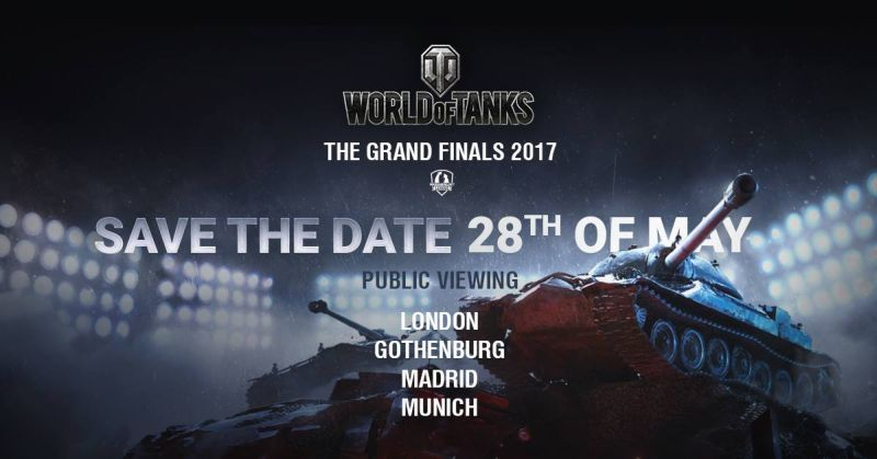 WGL Moscow Grand Finals in London