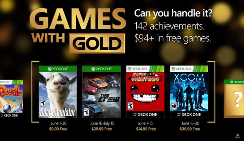 Xbox Live Games With Gold czerwiec 2016