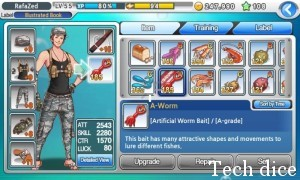 Fishing Superstars wybor postaci